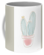 Watercolor Cactus- Art By Linda Woods Coffee Mug by Linda Woods
