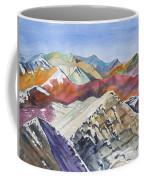 Watercolor - Colorado Elk Range View Coffee Mug