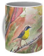 Watercolor - Common Yellowthroat Coffee Mug