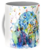 Watercolor Dachshund Coffee Mug