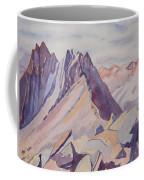 Watercolor - Near The Top Of Mount Sneffels Coffee Mug