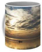 Watercolor Paddle - Kayaking Through A Glorious Silken Morning Coffee Mug