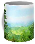 Watercolor Painting Of The English Countryside Coffee Mug