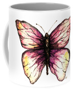 Watercolor Pink Butterfly Coffee Mug