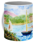 Watercolor Sail Coffee Mug