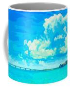 Watercolor Spring On Sarasota Bay Coffee Mug