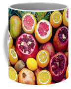 Watercolor Superfood Combo Coffee Mug by Celestial Images