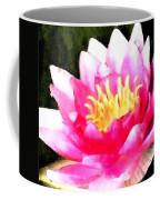 Watercolor Waterlily Coffee Mug