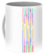 Watercolour Abstract Strips 2 Coffee Mug