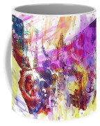 Watercolour Watercolor Paint Ink  Coffee Mug