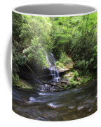 Waterfall And Mountain Creek Coffee Mug