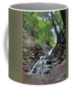 Waterfall And Natural Gas Coffee Mug