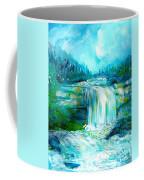 Waterfall At Pont Espagna Coffee Mug