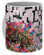 Waterfall Flowers 2 Coffee Mug
