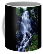 Waterfall Flowing And Ebbing Coffee Mug