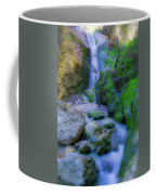 Waterfall In Soft Dream. Coffee Mug