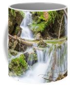 Waterfall In The Woods Coffee Mug