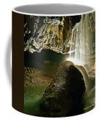 Waterfall Of The Caverns Coffee Mug