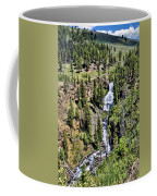 Waterfall On Lava Creek 1 Coffee Mug