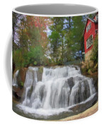 Waterfall Painting Coffee Mug