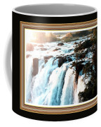Waterfall Scene For Mia Parker - Sutcliffe L A S With Decorative Ornate Printed Frame.  Coffee Mug
