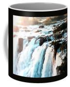 Waterfall Scene For Mia Parker - Sutcliffe L B Coffee Mug