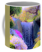 Waterfall Spring Colors Coffee Mug