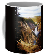 Waterfall Yellowstone 2 Coffee Mug