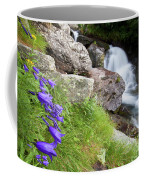 Waterfalls And Bluebells Coffee Mug