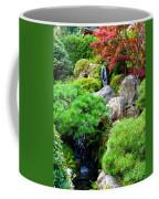 Waterfalls In Japanese Garden Coffee Mug