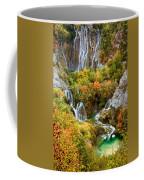 Waterfalls In Plitvice Lakes National Park Coffee Mug
