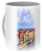 Waterfront Houses Coffee Mug