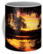 Waterfront Spectacular Sunset Coffee Mug