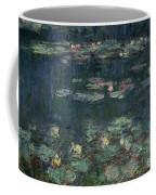 Waterlilies Green Reflections Coffee Mug