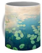 Waterlilies Home Coffee Mug by Priska Wettstein