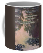 Waterlilies With Weeping Willows Coffee Mug