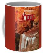 Watermill In Autumn Coffee Mug