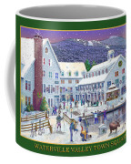 Waterville Valley At Wintertime Coffee Mug