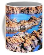 Watson Lake At Prescott Az Coffee Mug