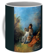 Watteau: False Step, C1717 Coffee Mug