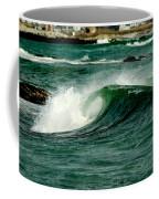 Wave Curl Coffee Mug