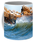 Wave Mirrors Rock Coffee Mug