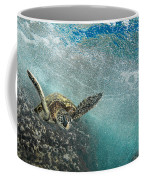 Wave Rider Turtle Coffee Mug