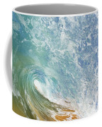 Wave Tube Along Shore Coffee Mug