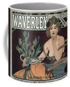 Waverley Cycles - Paris 1898 Coffee Mug