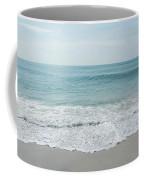 Waves And Assateague Beach Coffee Mug