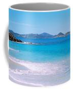 Waves Crashing On The Beach, Turtle Coffee Mug