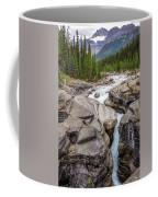 Waves Of ... Granite At Mistaya Canyon, Canada Coffee Mug