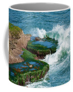 Waves Of La Jolla Coffee Mug