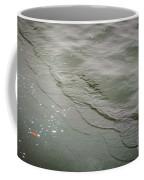 Waves On The Ice Coffee Mug